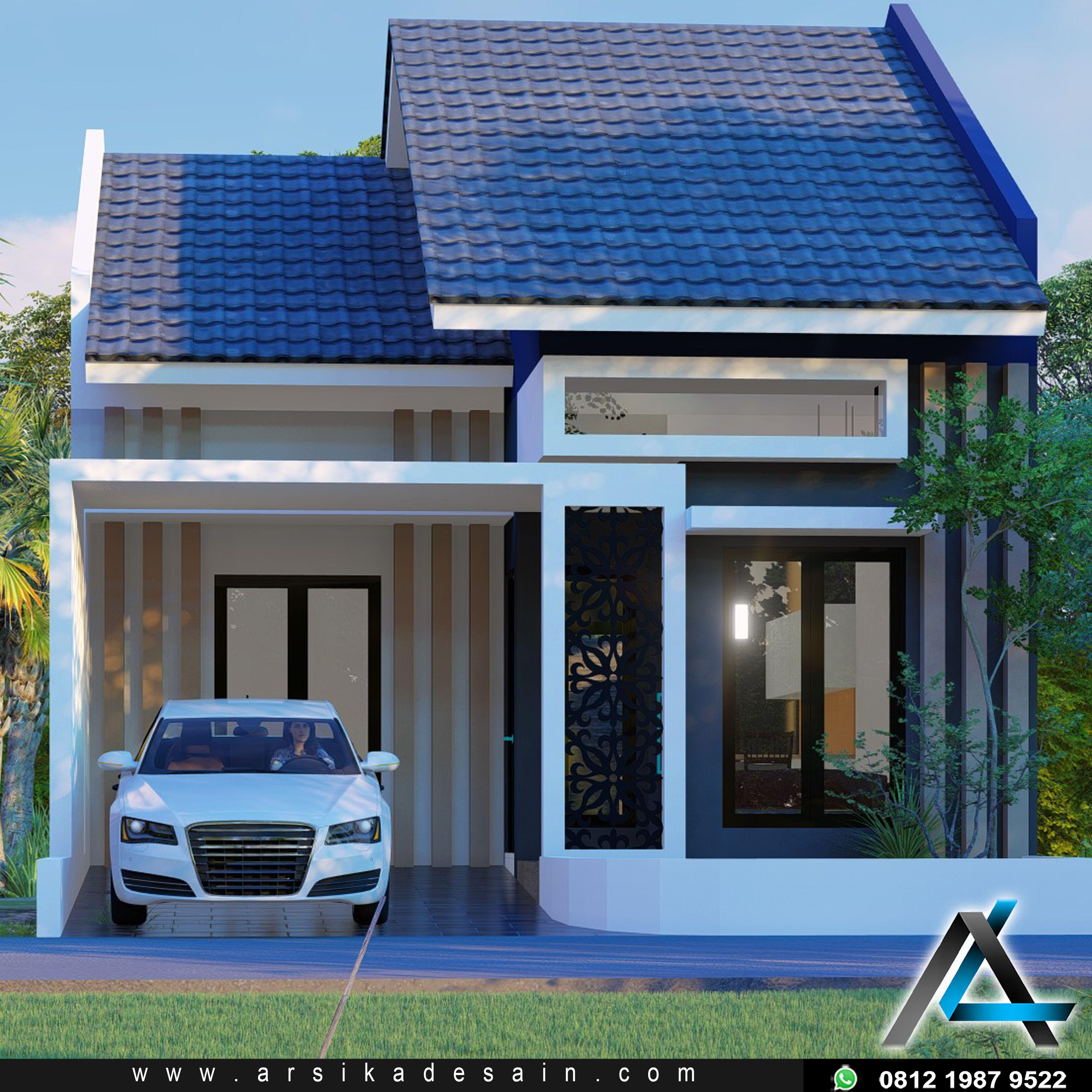Model Denah Rumah Minimalis 1 Lantai Dengan Kolam Renang ...