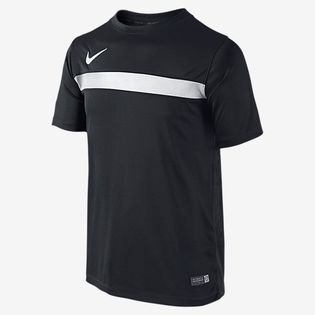 Nike Dry Big Kids' Short Sleeve Training Tops Black