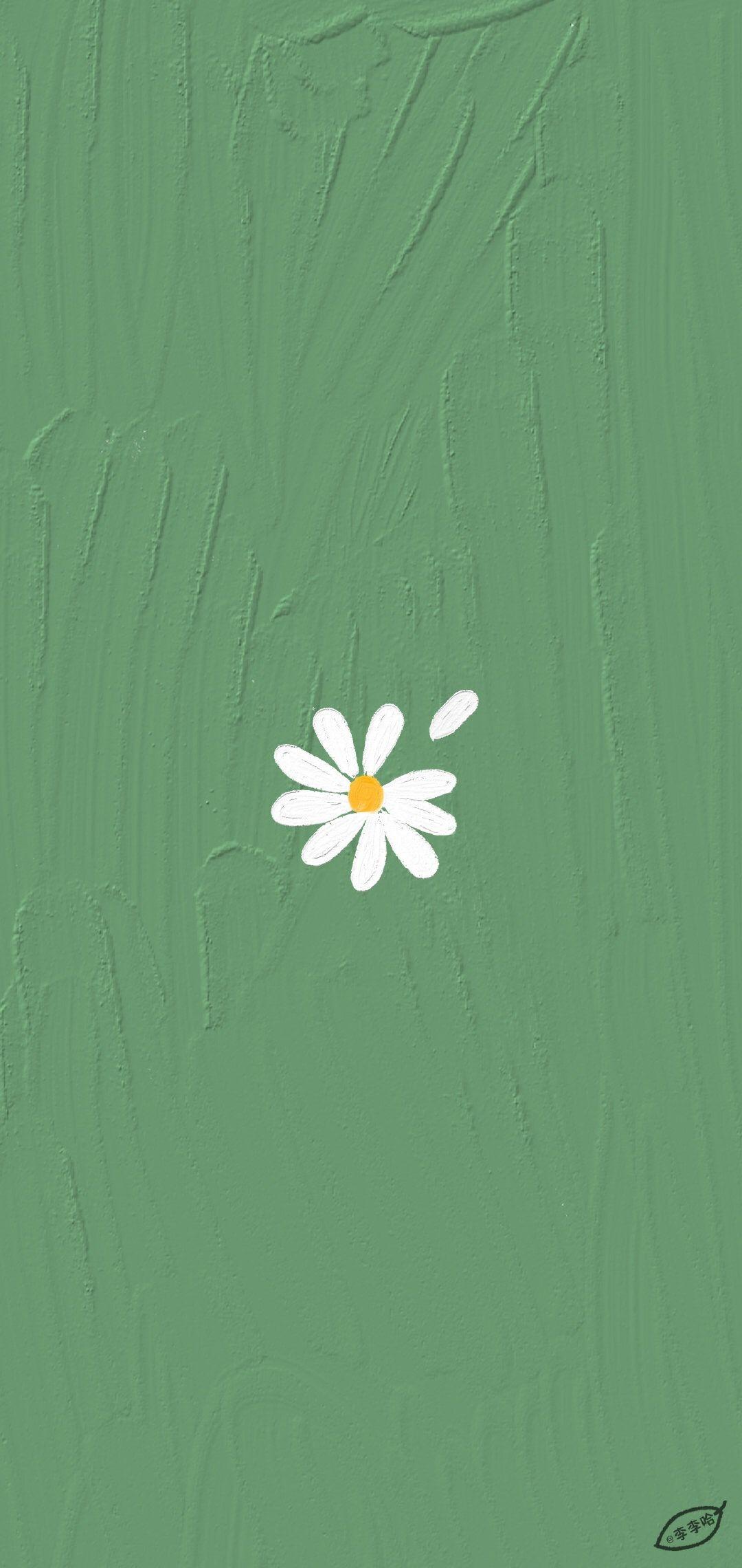 Wallpaper Iphone Hd Hijau