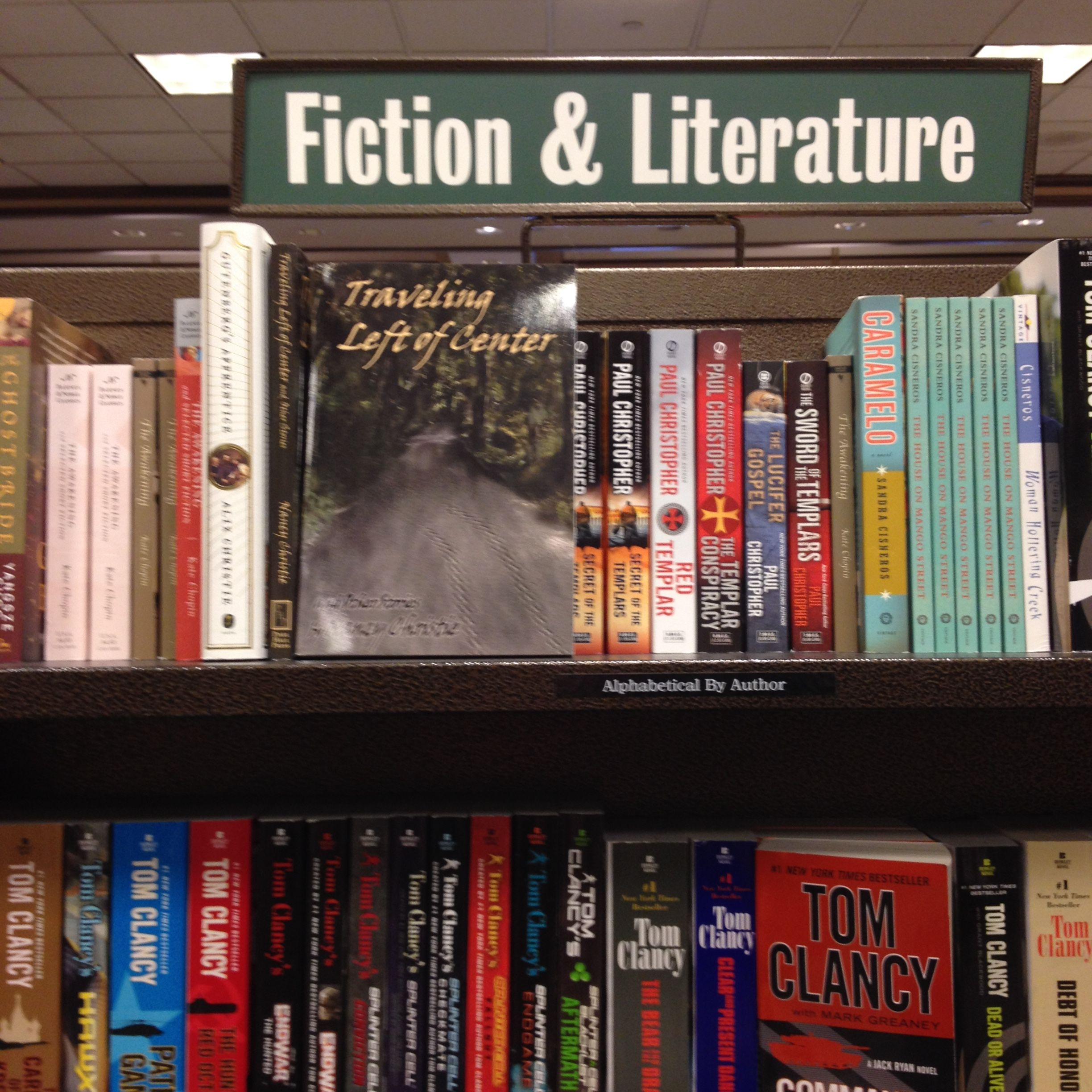 Traveling Left of Center and Other Stories on the shelf at Barnes