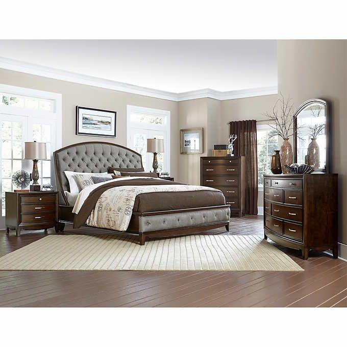precidio 6piece king bedroom set  bedroom furniture sets