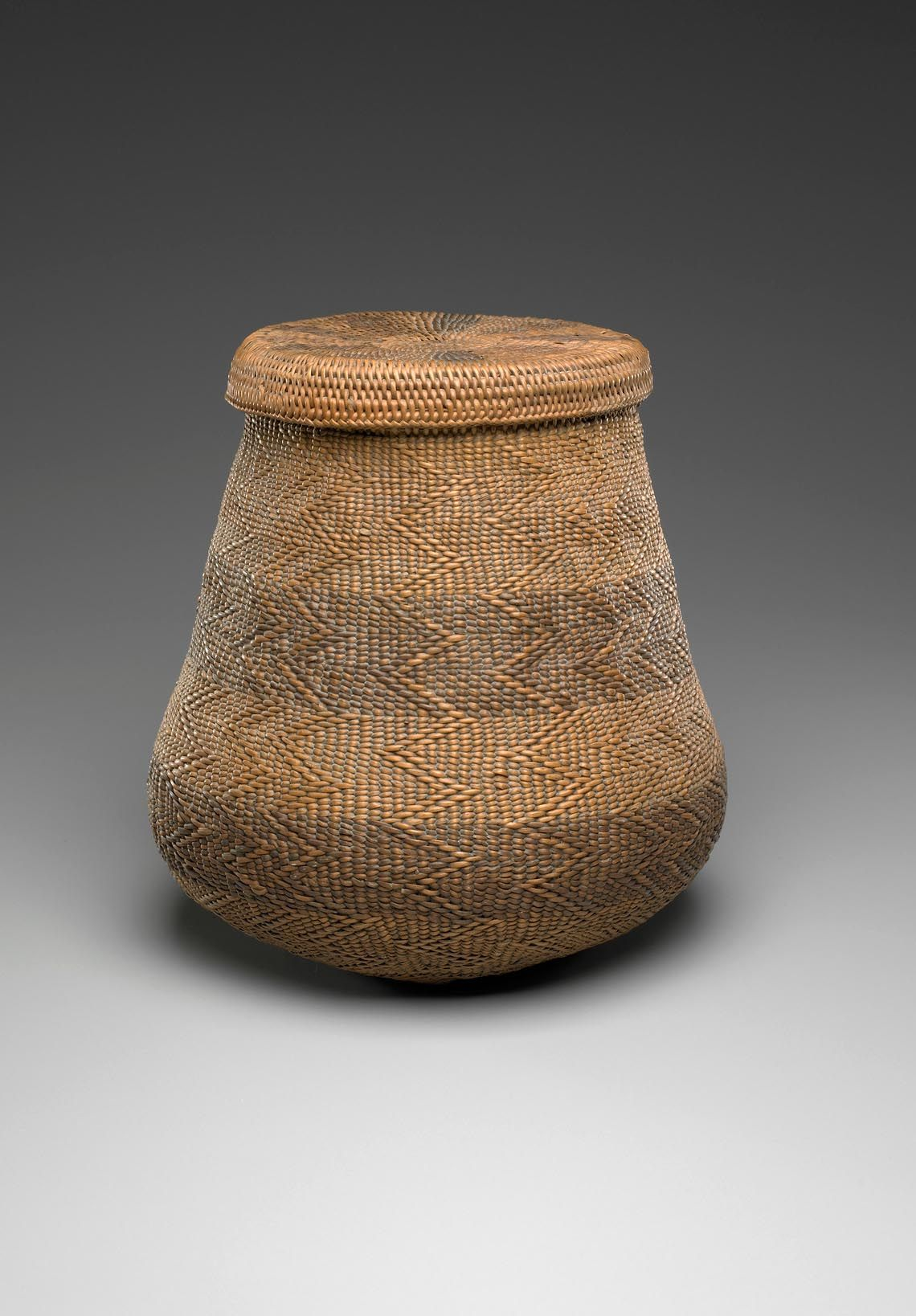 African Woven Hamper Africa Lidded Basket From South Africa Reed And Dye