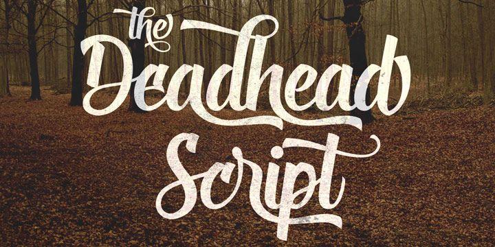 Deadhead Script Font Free Download Free Script Fonts Script