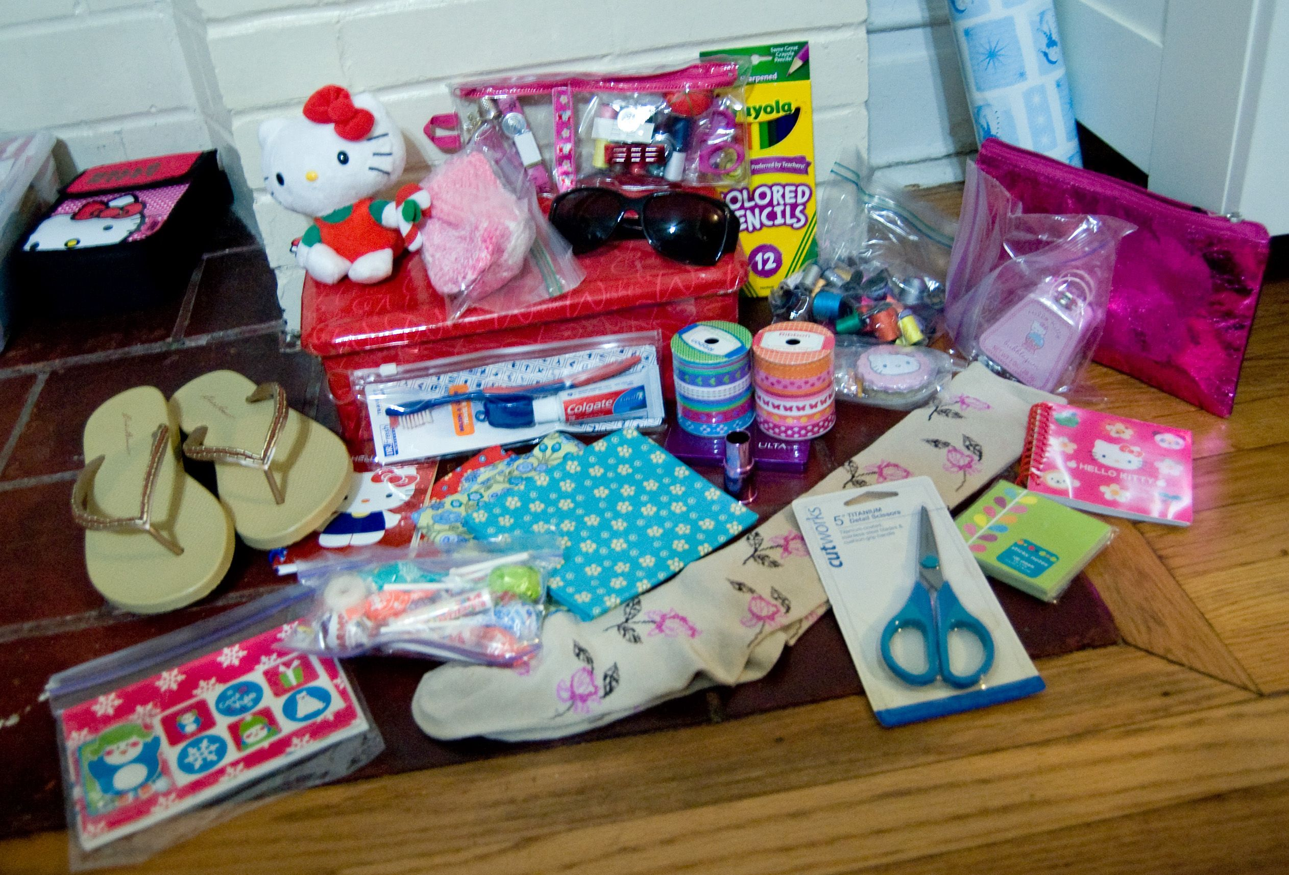 This Shoebox Is For A 10-14 Year Old Girl!