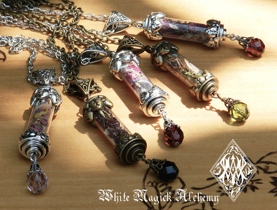 Custom alchemy charm pendant necklace magic bottle made custom alchemy charm pendant necklace magic bottle made especially for you pagan jewelry witchcraft wiccan aloadofball Choice Image