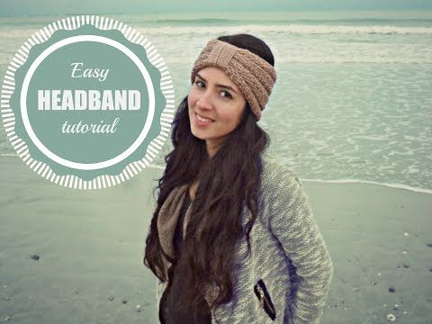How To Loom Knit A Easy Headbandear Warmer On A Round Loom Diy