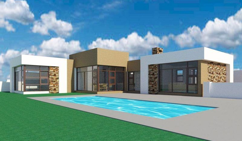 Ideas For Single Story 4 Bedroom House Plans South Africa In 2020 House Plans South Africa Single Storey House Plans 4 Bedroom House Plans