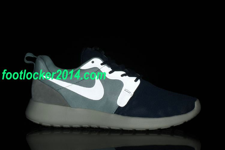 hot sale online db2c3 44b08 ... Nike Roshe Run HYP QS 3M Mens Night Lights Fiberglass Green Squadron  Blue Summit White 616325 ...