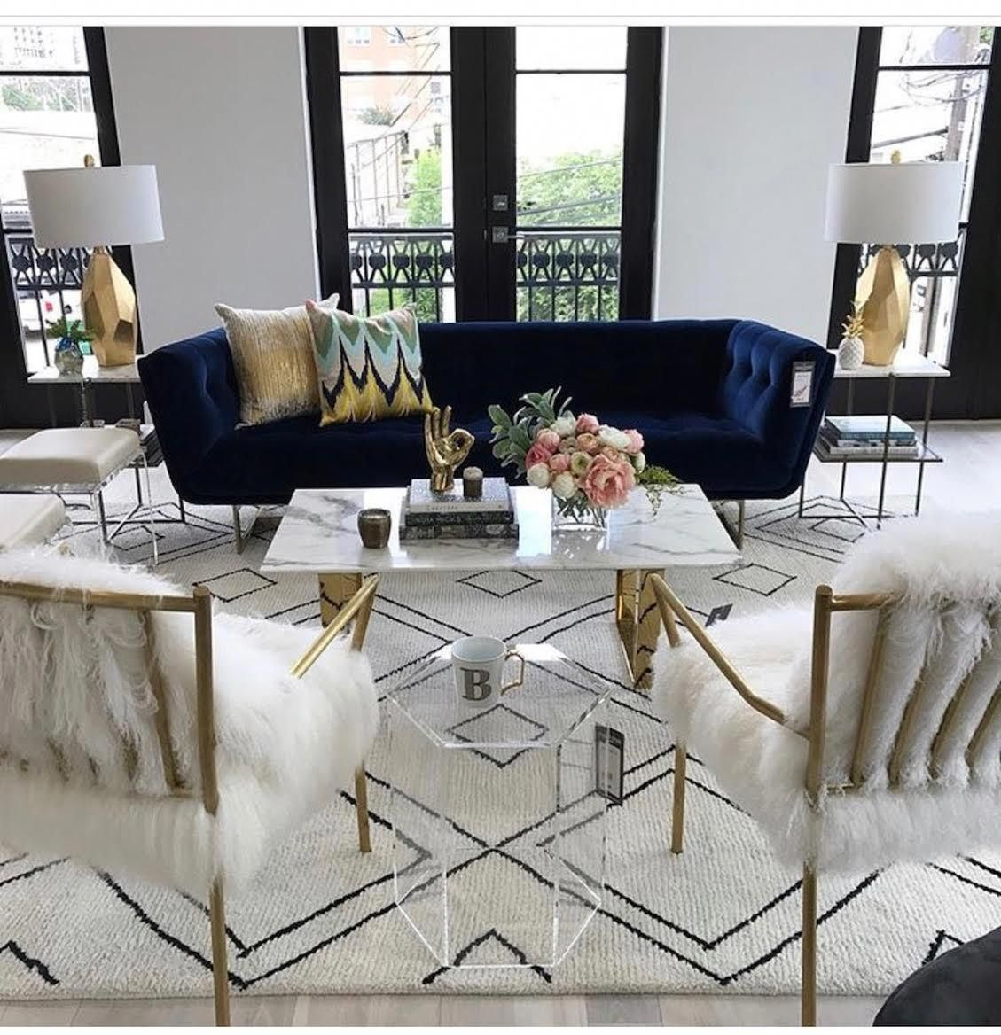 Giving Your Interiors A Quick Facelift Olivia Palermo Lovetheseinteriorplanningtipsandideas With Images Glam Living Room Decor Glam Living Room Velvet Living Room