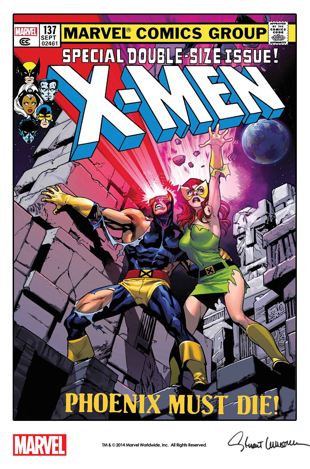 An Homage To John Byrne S Brilliant Cover For The Marvel Project Comics The Uncanny X Men