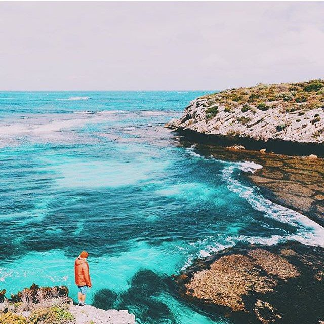 Rottnest Island Australia: The Beautiful Blue Beyond Of Rottnest Island. Photo By
