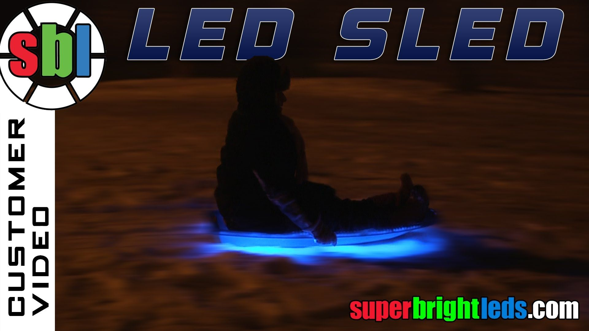 How to add led lights to your sled