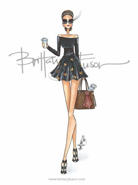 Custom Illustration  [ www.brittanyfuson.com ]