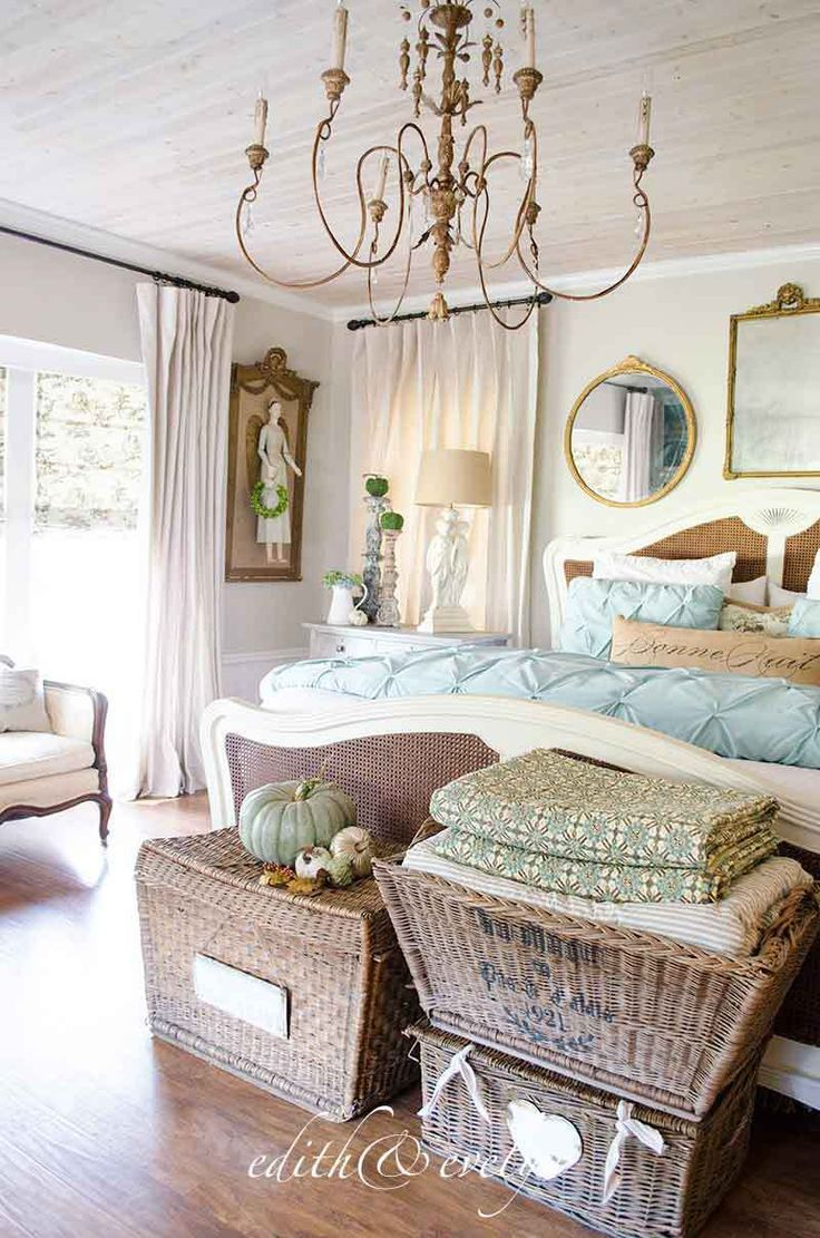 French Country Fall Home Tour The Master Bedroom Edith Evelyn Shabby Chic Decor Bedroom Country House Decor French Country Bedrooms Download french country bedroom