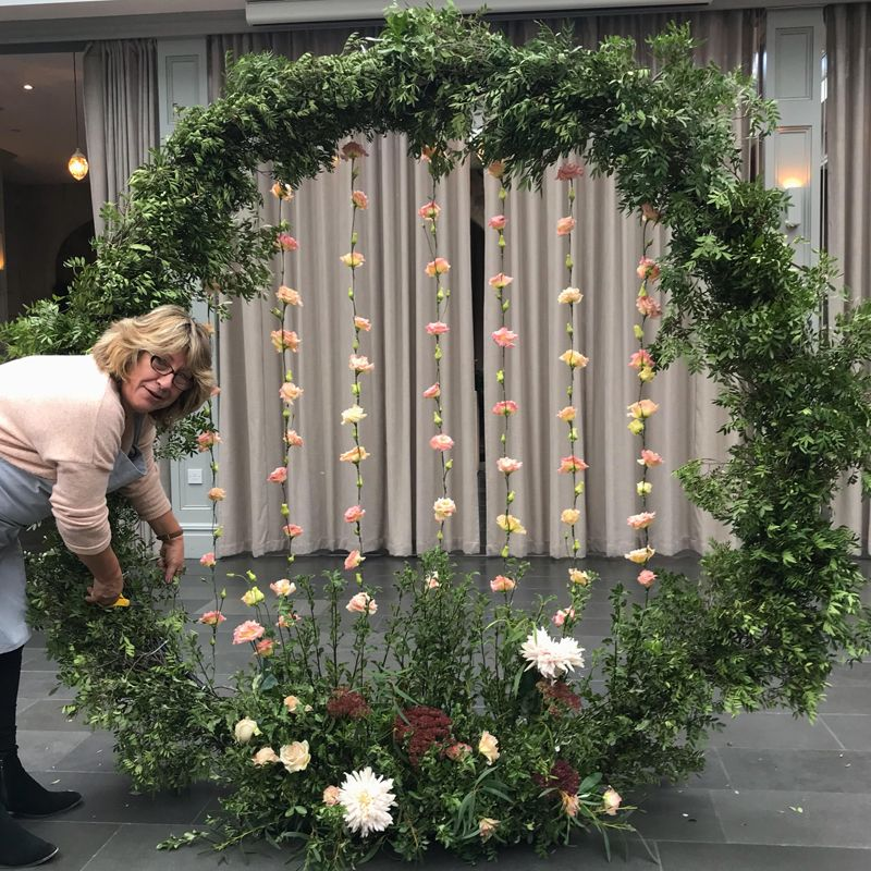 Wedding Altar Hire Uk: MOONGATE / ROUND WEDDING ARCH FOR CEREMONY BACKDROPS