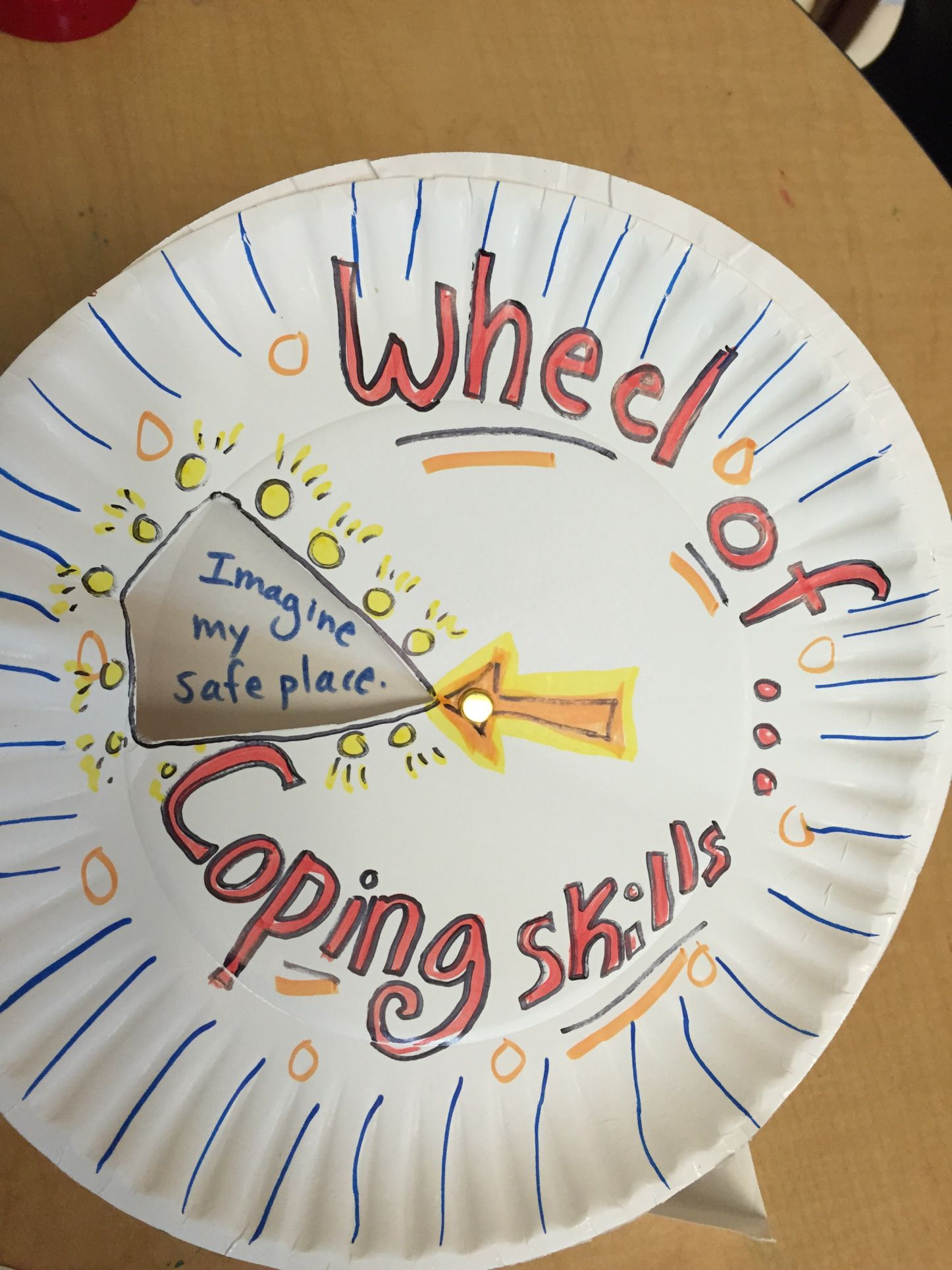 Spin The Wheel Of Coping Skills