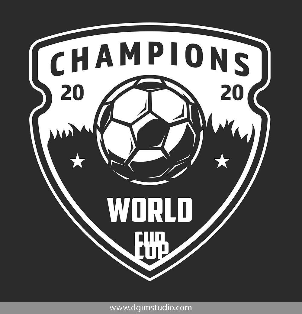 Soccer Emblems Set Soccer Logo Emblems Soccer