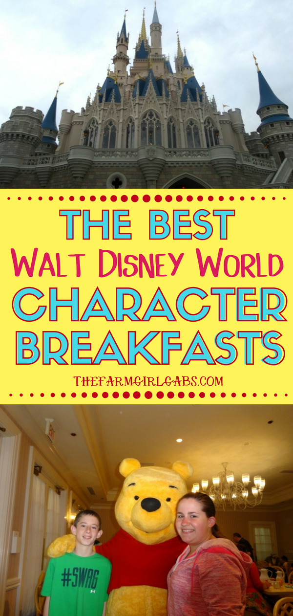 The Best Character Breakfasts At Walt Disney World