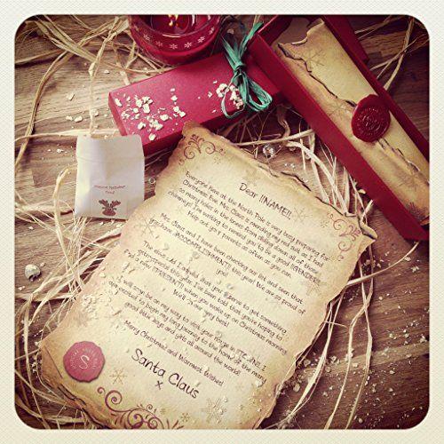 handmade personalised santa letter
