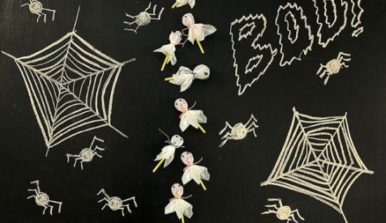 Dia trinta e um de outubro é festejado o Halloween ou dia das bruxas, uma festa onde a decoração é b