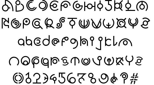 Alien font | doodles + letters | Alien font, Space font