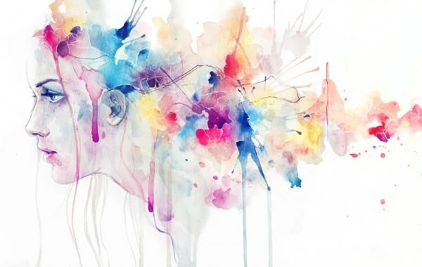 Watercolor Paintings by Silvia Pelissero | Rostros de arte ...