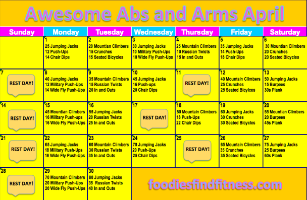 Pin By Julie Truxall On Foodies Find Fitness April Challenge How To Stay Healthy I Work Out