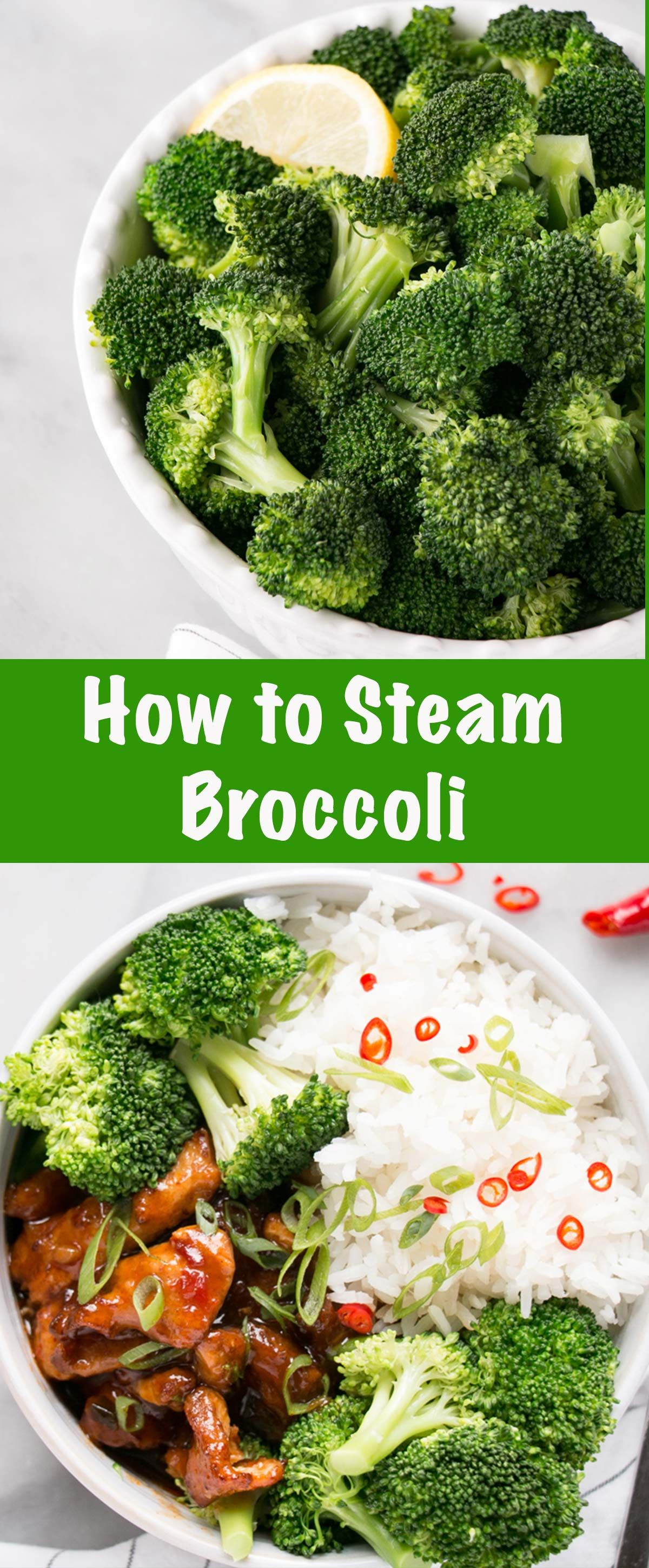 How To Steam Broccoli Without A Steamer Using Either A Stove Top Or A Microwave This Is A Co Broccoli Side Dish Steamed Broccoli Vegetable Side Dishes Recipes