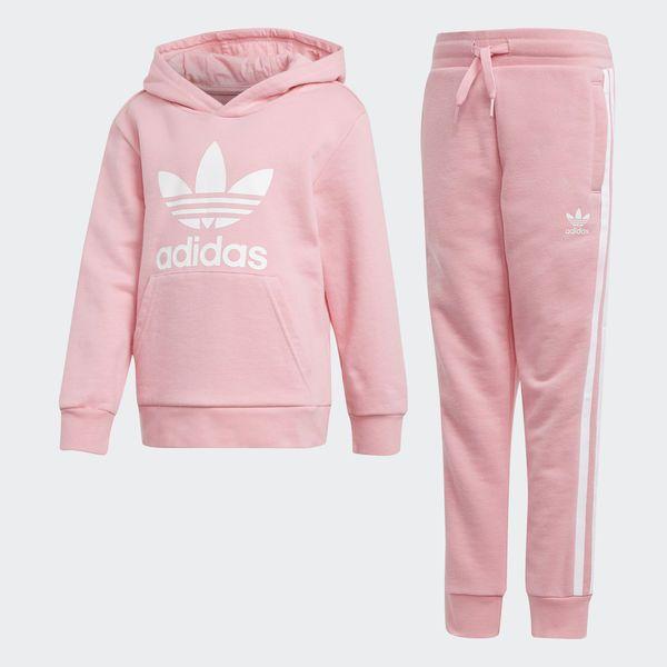 Ritual Sermón Lo anterior  adidas Trefoil Hoodie Set - Pink | adidas UK | Ropa adidas, Ropa deportiva  adidas