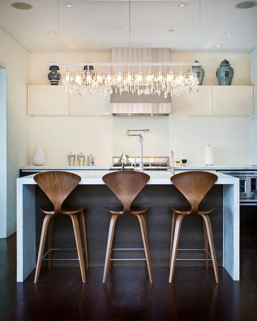 Copper Kitchen Bar Stools Classy Marla Schrank Interiors Modern Contemporary Kitchen Design 3310 7