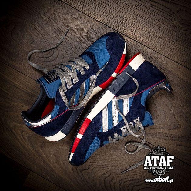 buy popular 4b45e 34a78 adidas Originals Boston Super - Stonewash Blue / Metallic ...