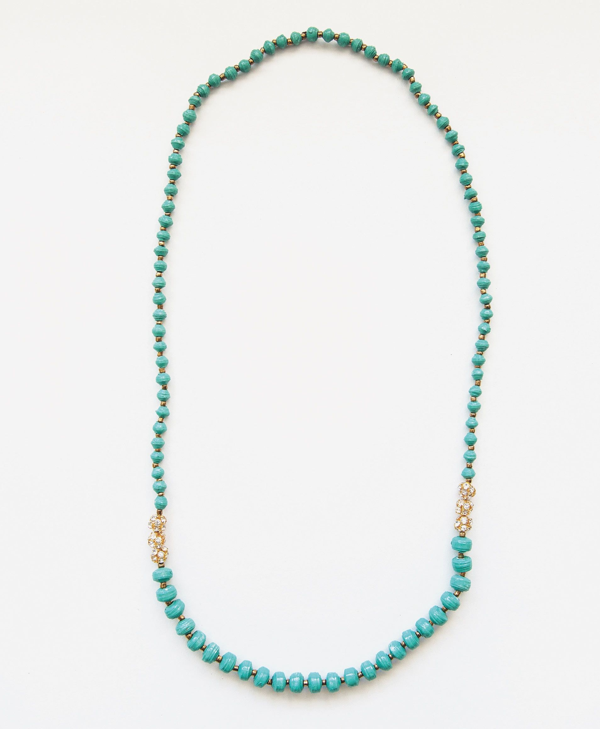 Sparkling Necklace, Sea Green - Noonday Collection