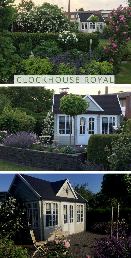 Gartenhaus Clockhouse44 Royal ISO TO332 Gartenhaus
