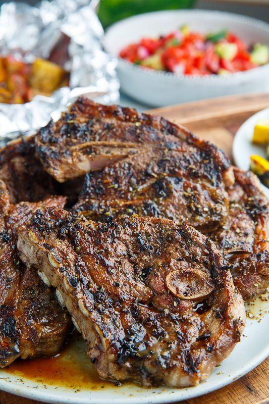 Greek Style Grilled Lamb Chops Recipe Grilled Lamb Chops