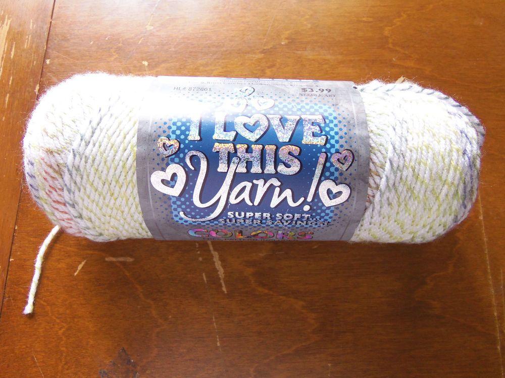 hobby lobby i love this yarn 1 skein in sorbet ribbon mpn 4004 hobbylobby - Hakelmutzen Muster