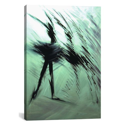 Morning Dance Graphic Art On Wrapped Canvas Modern Art Prints White Canvas Art Ballerina Painting