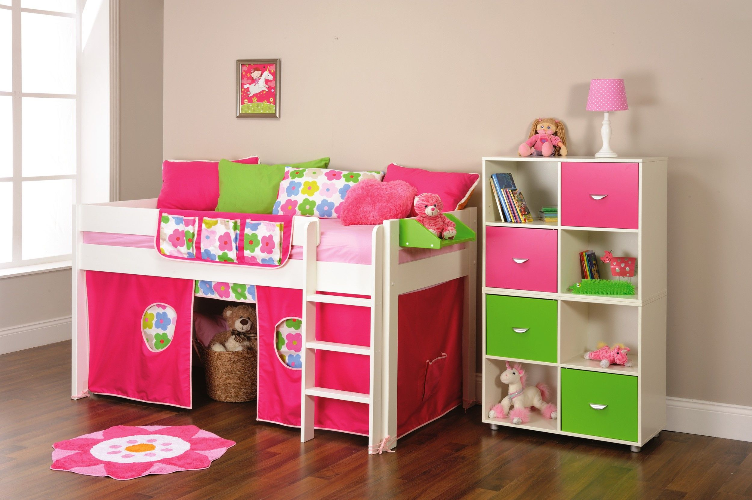 Stompa Play 2 - Cabin Bed with Play Tent (girl) & childrens round bed tent - Google Search | Childrenu0027s Bed ...