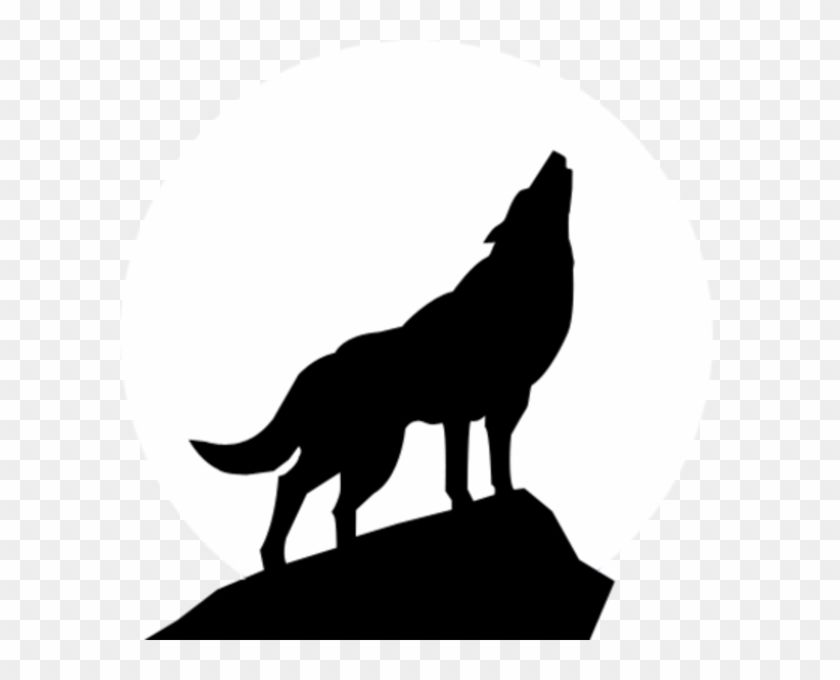 Wolf outline. Free clip art wolves