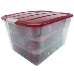 Christmas Tree Plastic Storage Box Ornament Storage Box  $2499 Organize And Protect Your Christmas