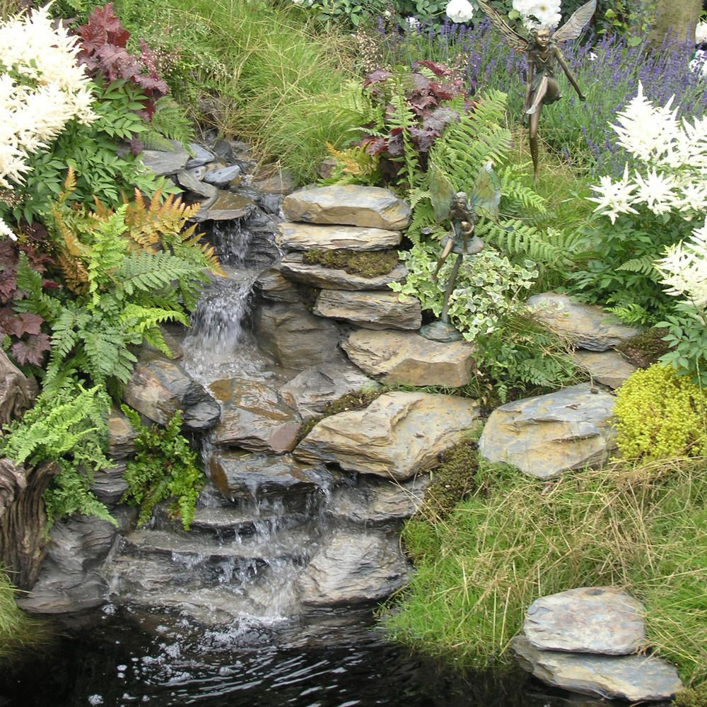 Wasserfall Im Garten Selber Bauen Wasserfall Garten Bachlauf Im Garten Wassergarten