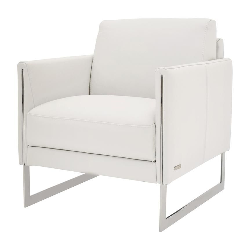 Stupendous Coco White Leather Accent Chair New Chandelier Ortega New Ibusinesslaw Wood Chair Design Ideas Ibusinesslaworg