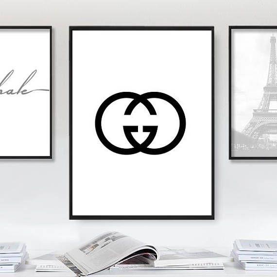 999080e038dcc Gucci Poster, Printable Gucci Sign, Gucci, Gucci Print, Gucci ...