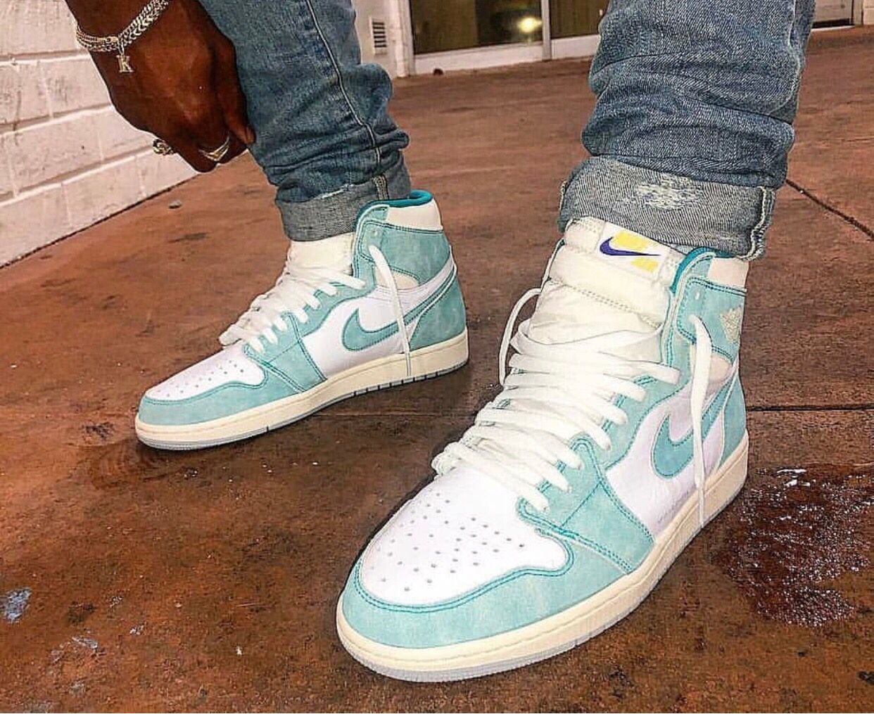 Air Jordan 1 Turbo Green Air Jordans Retro Jordans For Men