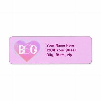 Monogrammed Wedding Address Labels From Insightfulweddings On Zazzle My Have Room