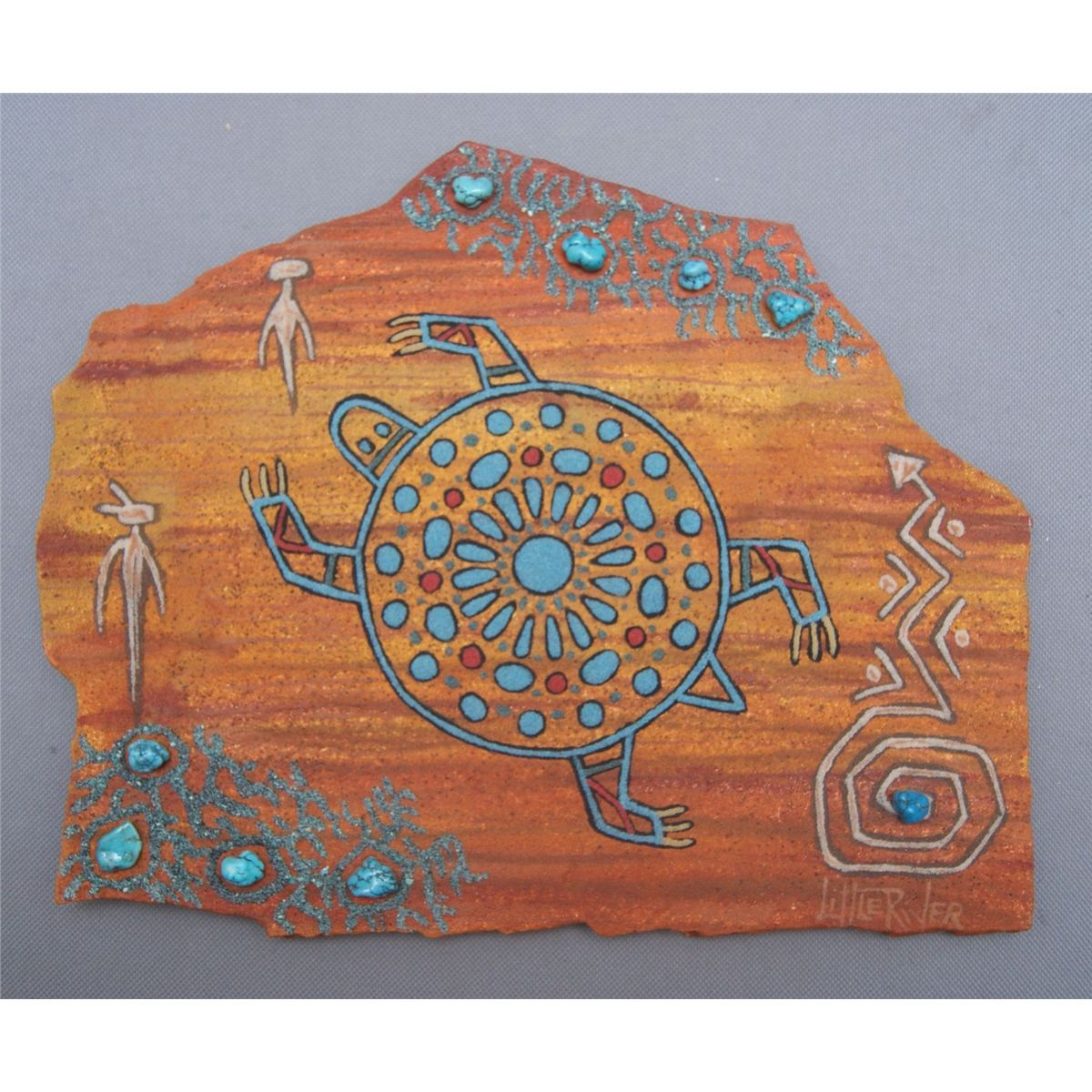 Navajo sand painting for kids image 1 navajo art for for Southwest arts and crafts