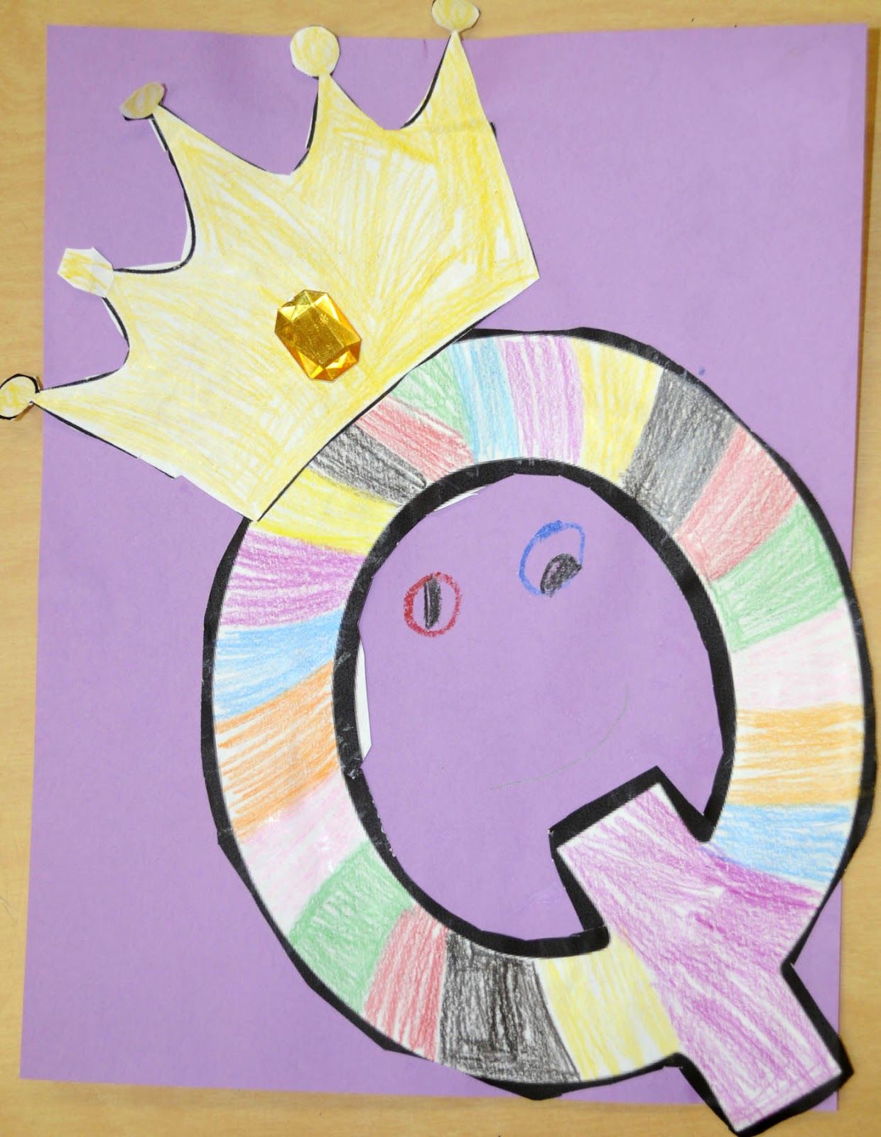letter q queen craft daycare pinterest queens craft and