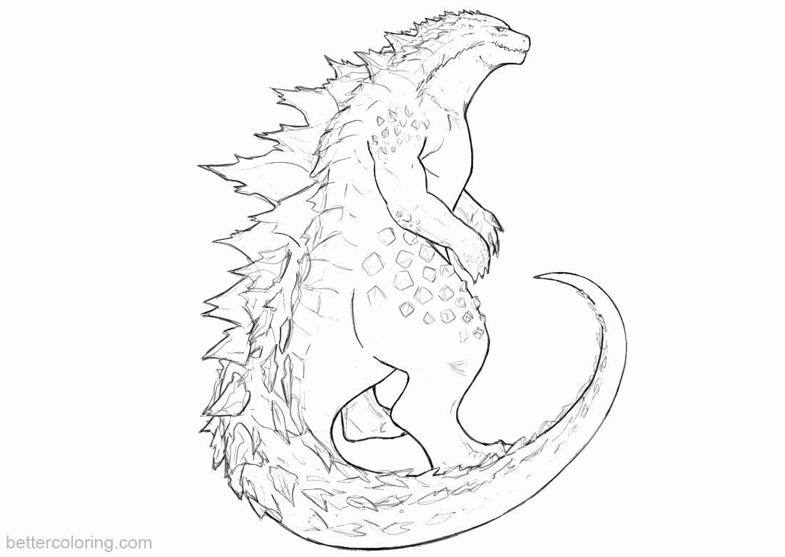 Space Monster Coloring Page Elegant Godzilla Monsters Coloring Pages Monster Coloring Pages Space Coloring Pages Coloring Pages