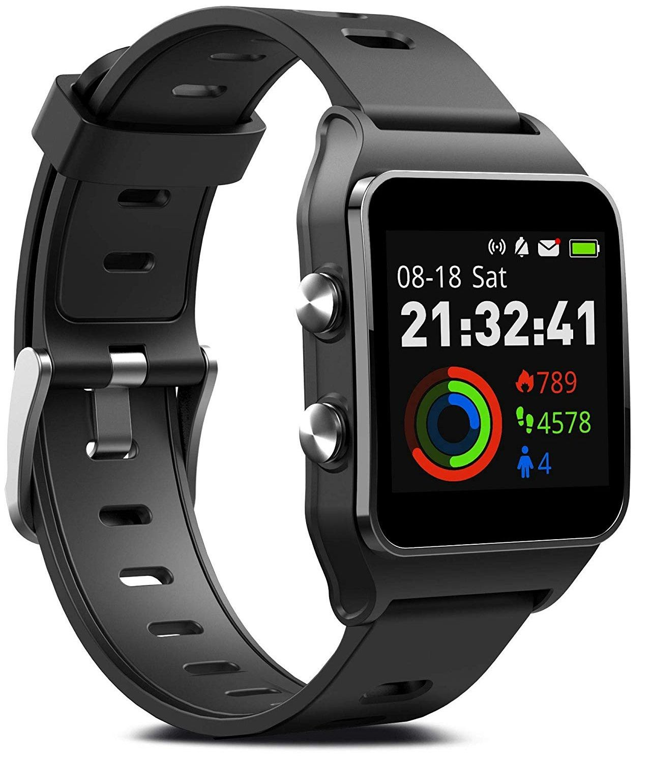 GPS Smartwatch with 17 Sports Mode Activity Tracker