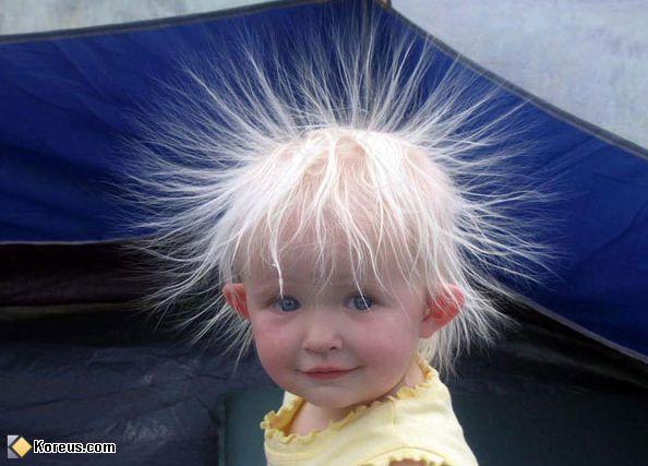 Célèbre photo enfant coupe cheveux pétard humour insolite | insolite  YN42