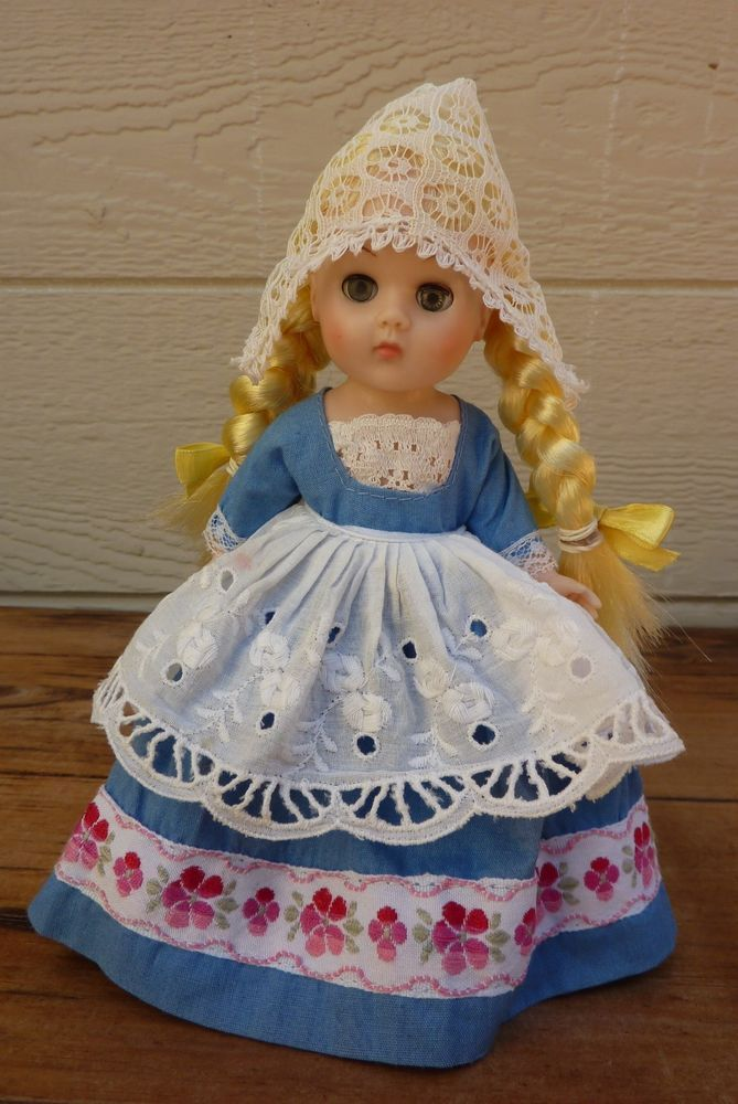 Vintage Collectible Ginny Doll / Vogue Dolls / Scandinavia / 1960s